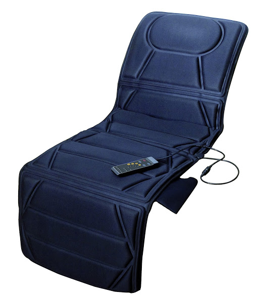 Carepeutic® Targeted Zone Deluxe Vibration Massage Mat with Heat